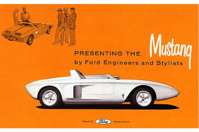 Mustang I prototype 1962