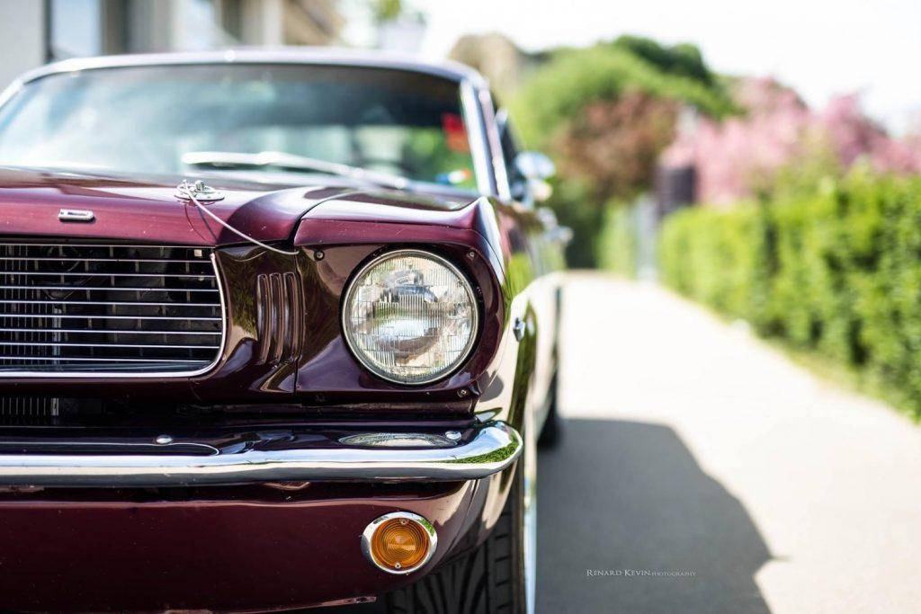 La Mustang 66 de Sébastien a un caractère bien affirmé