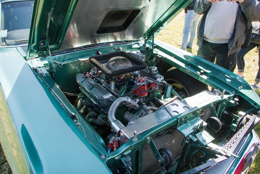Le moteur de cette 69 est un Cobra Jet !