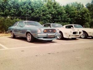 La Mustang II de Jade arbore une teinte bleutée assez rare...