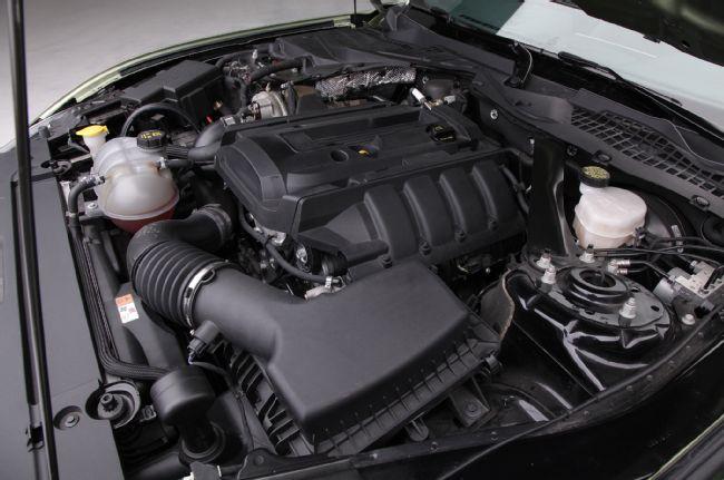 Le turbo du 4 cylindres entièrement revu.