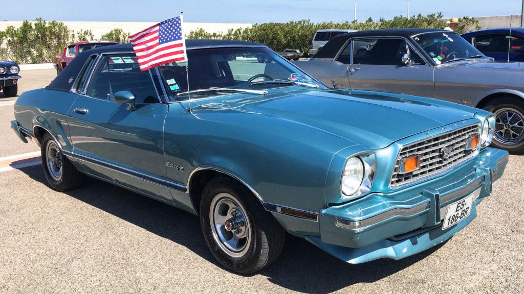 La voiture de Jade au Mustang Day 2018