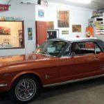 La Mustang est enfin chez Rétro Garage.