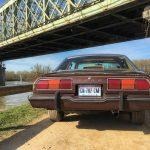 L'arrière train reconnaissable des Mustangs de deuxième génération