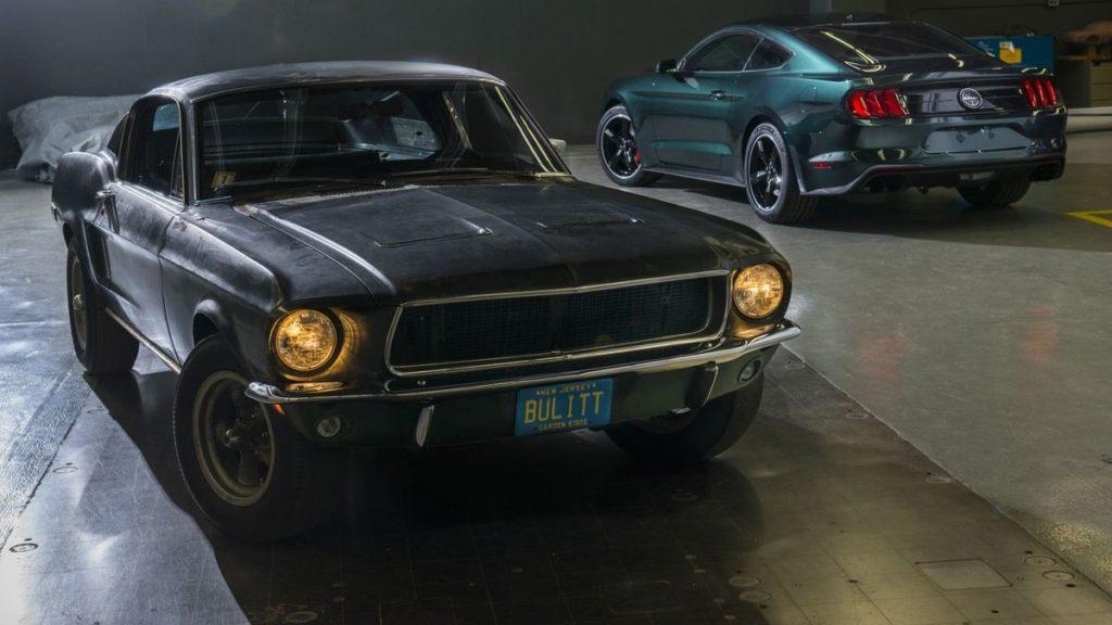 L'ex-Mustang de McQueen dans Bullitt, aux côté de le Bullitt 2019