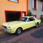 La Mustang est enfin à la maison !