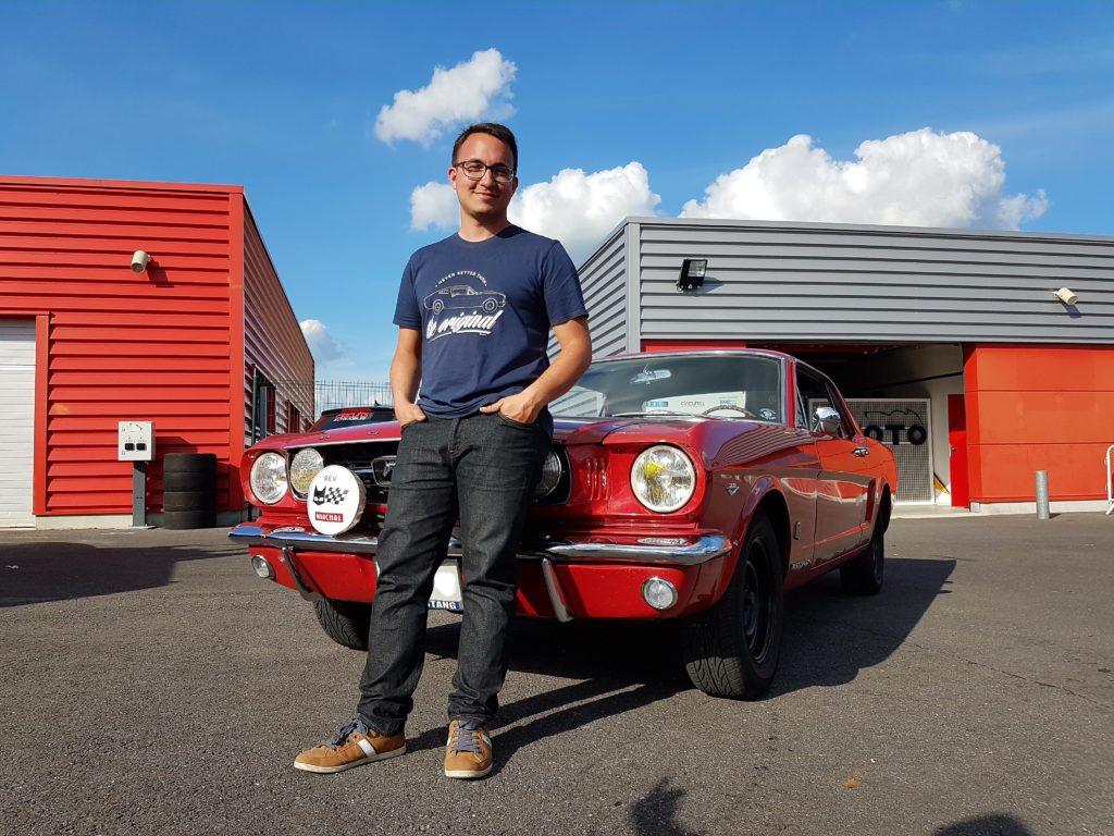 Freddy et son coupé GT '66 export