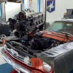 Le nouveau moteur prend enfin place !
