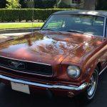 Un superbe coupé 66 californien !