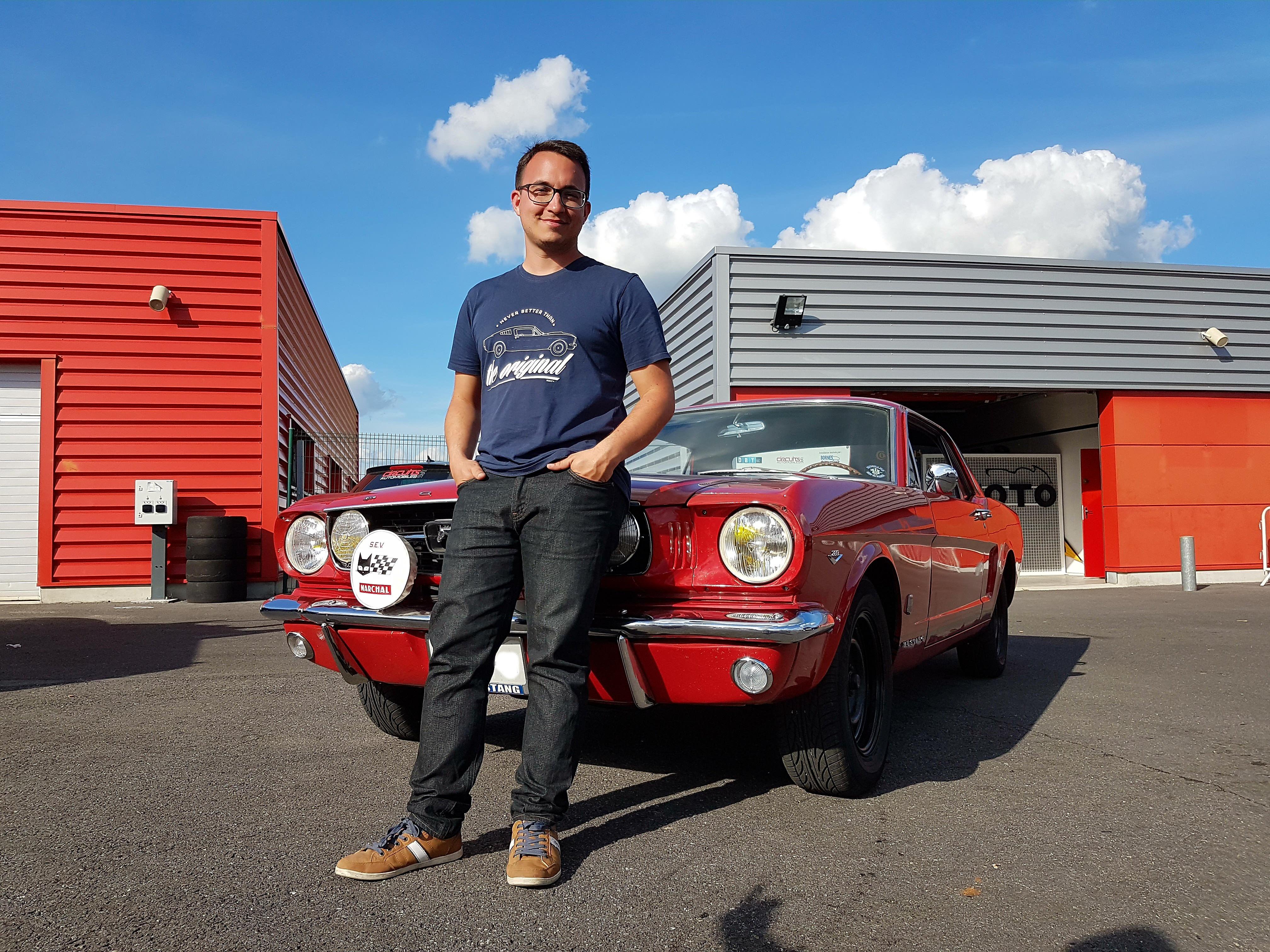 Freddy et son coupé GT '66 export